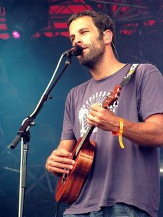 Jack Johnson...saw in concert twice...would love to see him play on the beach though.