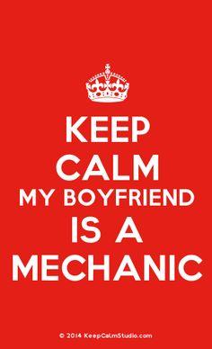 [Crown] Keep Calm My Boyfriend Is A Mechanic