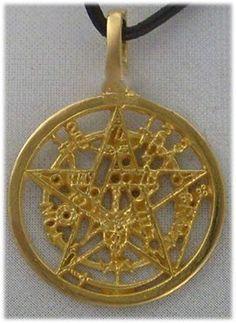 Fantasy la edad media magia amuleto cadena colgante unicornio estrellas fuego nuevo