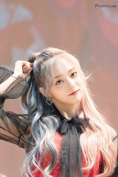 Kpop Girl Groups, Korean Girl Groups, Kpop Girls, Dye My Hair, Korean Celebrities, Pretty And Cute, Aesthetic Girl, K Idols, South Korean Girls