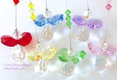 Color Therapy Angel Suncatchers