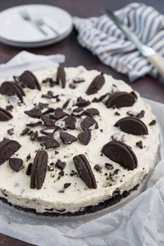 Discover recipes, home ideas, style inspiration and other ideas to try. Oreo Cheesecake Recept, Cheescake Oreo, Oreo Cake, Cake Cookies, Amish Recipes, Dutch Recipes, Cake Recipes, Cooking Recipes, Southern Living