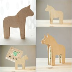 DALA horse memo clip holder