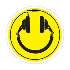 Techno, Music Tattoo Designs, Tattoo Sleeve Designs, Headphones Tattoo, Music Headphones, Instagram Logo Transparent, Emoji, Rick Und Morty, Play That Funky Music