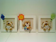 Trio De Quadrinhos Ursinho