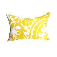 SUMMER PILLOW.Yellow Pillow Cover Yellow & by AnyarwotDesigns, $17.00