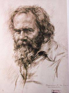 Nicolai Fechin Technique | Old Master Portrait Drawings