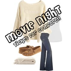 Movie Night!, created by willinghamlove on Polyvore