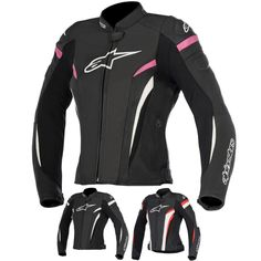 Alpinestars Racing Stella GP Plus R v2 Airflow Womens Leather Motorcycle Jackets