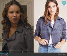 Alisha Boe, Suede Moto Jacket, 13 Reasons, Fashion Tv, Other Outfits, Dress To Impress, Jackets, Movie, Clothes