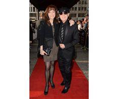 Sänger der Scorpions Klaus Meine mit seiner Frau Gabi