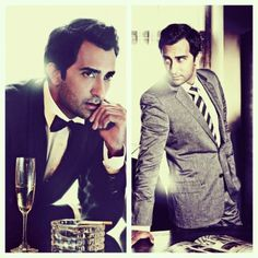 Rahul Khanna - a face model for a character in my current novel