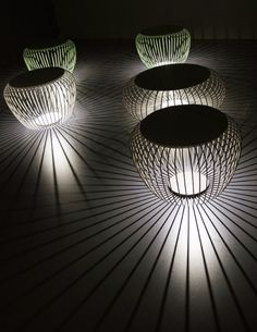 Outdoor Floor Lamps To Use In A Deck Or Patio | Visit and follow homedesignideas.eu for more inspiring images and decor ideas