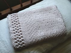 Sweet Phoebe Baby Blanket By Sandra D. Carter - Free Knitted Pattern - (ravelry)
