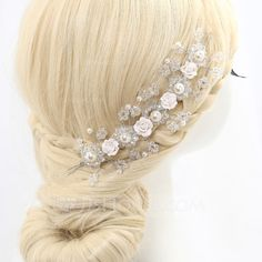 Exquisite Alloy/Imitation Pearls/Polymer Clay Headbands (042062389)