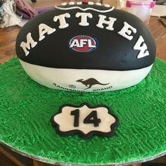 Collingwood football cake
