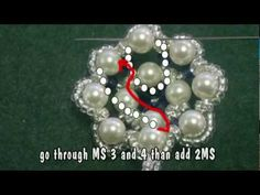 Beading4perfectionists : Swarovski pearl - bicone pendant tutorial