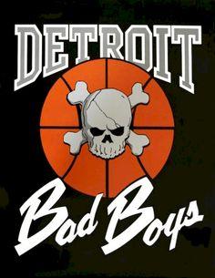 Detroit Pistons The Bad Boys Detroit Basketball, Detroit Sports, Basketball Teams, Pistons Basketball, Basketball Jones, Ben Wallace, Derrick Rose, Piston Art, Eminem