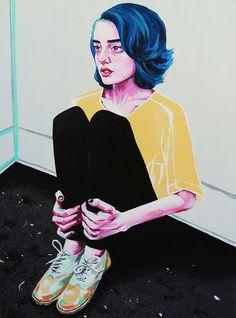 Skyanna - Acrylic on canvas