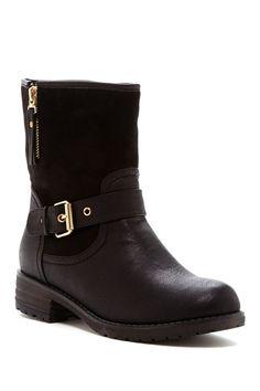 Jayda Buckle Boot on HauteLook