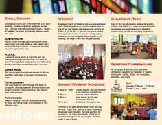 Design Project | Church Brochure | Photographic Rhodes