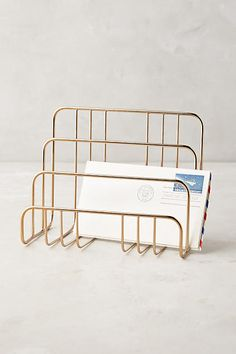 Savoy Letter Sorter - anthropologie.com                                                                                                                                                     More
