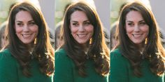 The Duchess of Cambridge wears a green, Jackie Kennedy-esque suit for her latest outing.