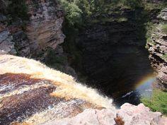 Cachoeira do Buracão - queda, Chapada Diamantina, BA