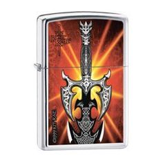 """Zippo Kit Rae Sword Pocket Lighter (Multi, 5 1/2 x 3 1/2 cm) by Zippo. $19.91. The World Famous Zippo® Guarantee Any Zippo metal product, when returned to our factory will be put in first class condition free of charge, for we have yet to charge a cent for the repair of a Zippo metal product, regardless of age or condition. The finish, however, is not guaranteed. This guarantee gives you specific legal rights and you may also have other rights which vary from state to state. """"..."""