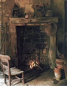 """""""Firelight will not let you read fine stories but it's warm and you won't see the dust on the floor.""""  ~Irish Proverb"""