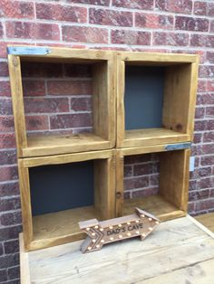 Free standing or wall mounted modular shelving units. Modular Shelving, Rustic, Home Decor, Country Primitive, Decoration Home, Room Decor, Retro, Farmhouse Style, Primitives