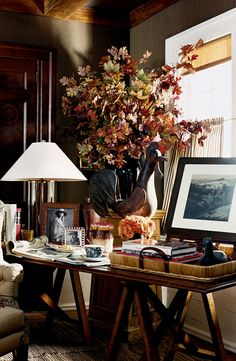 "ralphlauren: "" Ralph Lauren Home décor accented by warm earth tones. Discover more: here. """