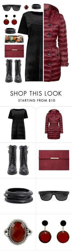 """Untitled #1801"" by tinkertot ❤ liked on Polyvore featuring Boohoo, Burberry, Dorothy Perkins, ZENZii, Jura, NOVICA and Marni"