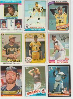 Huge 40 + different BERT BLYLEVEN cards lot 1976 - 2013 HOF Twins more       #MinnesotaTwins