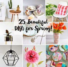Poppytalk: 25 New + Beautiful DIYs for Spring!