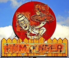 Humdinger Hamburgers - Ninth Street in Kansas City, Missouri.   A tiny place, but those greasy burgers were a great cure for a hangover..., so I'm told.