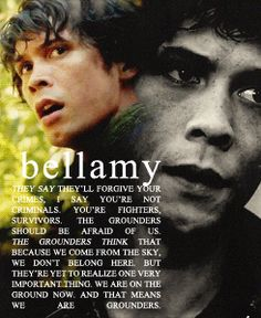 Bellamy Blake|| The 100 i love it