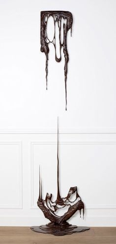 Melted Wood Sculptures by Bonsoir Paris   Inspired!