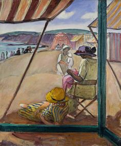 Henri Lebasque - Saint-Gildas Point, 1922 (oil on canvas)