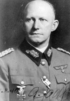 Alfred Josef Ferdinand Jodl; 10 May 1890 – 16 October 1946) was a German military commander, attaining the position of Chief of the Operations Staff of the Armed Forces High Command (Oberkommando der Wehrmacht, or OKW) during World War II, acting as deputy to Wilhelm Keitel, and signed the unconditional surrender of Germany as a representative for German president Karl Dönitz.