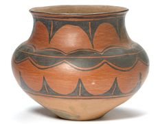 A San Ildefonso redware jar