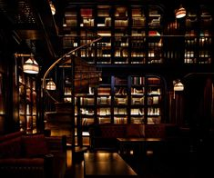 The Library in The NoMad Hotel, New York City - real books and fantastic cocktails and dining