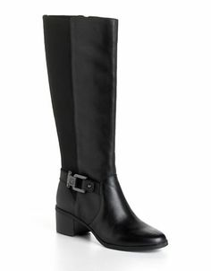 Jodene Leather Riding Boots | Lord and Taylor