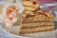 Anul asta, de ziua mamei mele, am ales sa fac un tort cu totul si cu… Romanian Desserts, Romanian Food, My Recipes, Dessert Recipes, Cooking Recipes, Something Sweet, Cakes And More, Vanilla Cake, Sweet Treats