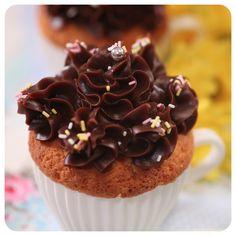 Massa de Cupcake de Laranja