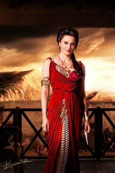 Lucretia from Spartacus - Lucy Lawless