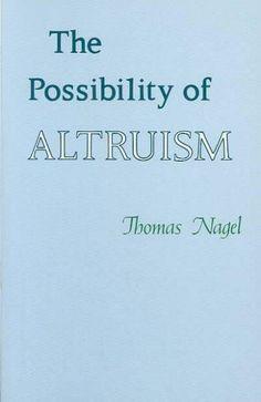 Precision Series Possibility of Altruism
