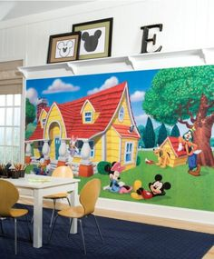 23074408c4e Mickey Mouse Clubhouse Wall Decal Room Mates
