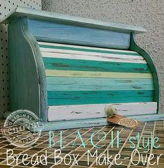 beach style bread box make over Renovar Desgin