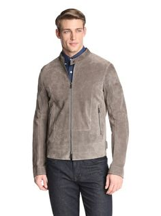 Jil Sander Men's Adamello Leather Jacket   http://www.hitz-style.com/men/jil-sander-4